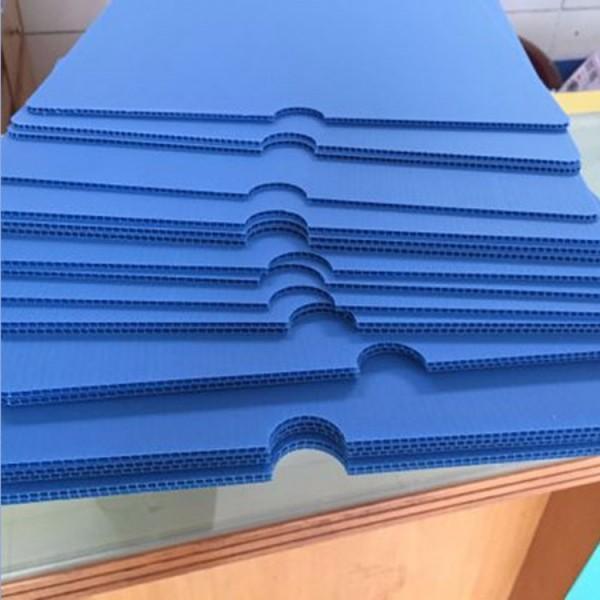 陕西厂家直销苹果冷库围板pp中空板隔板各种颜色尺寸定制