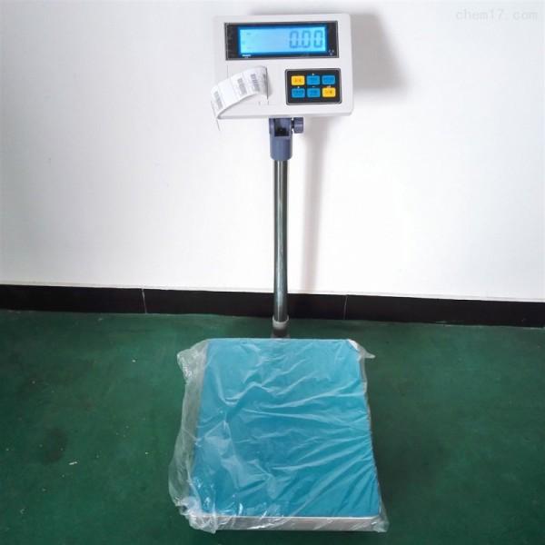 石家庄打印电子台秤,120kg不干胶打印台称,APP打印台秤
