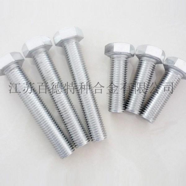 蒙乃尔Monel (N05500/2.4375)外六角螺栓