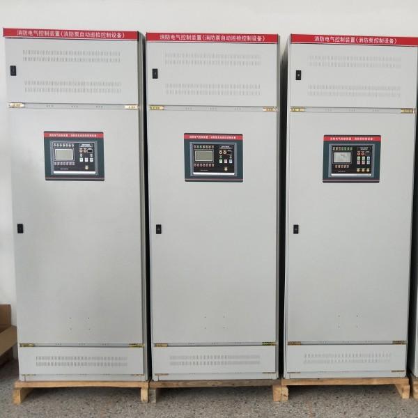 3CF消防泵自动巡检柜水泵变频低频万昊智能喷淋巡检控制柜