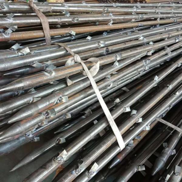 钢花管又称钢锚管