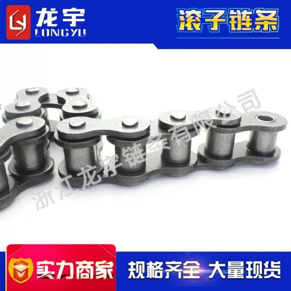 厂家供应12B单排精密滚子链条 高品质碳钢传动链条