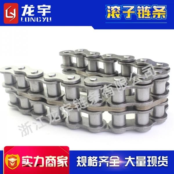供应28A-2工业链条链条厂家直供 1.6寸双排精密滚子链