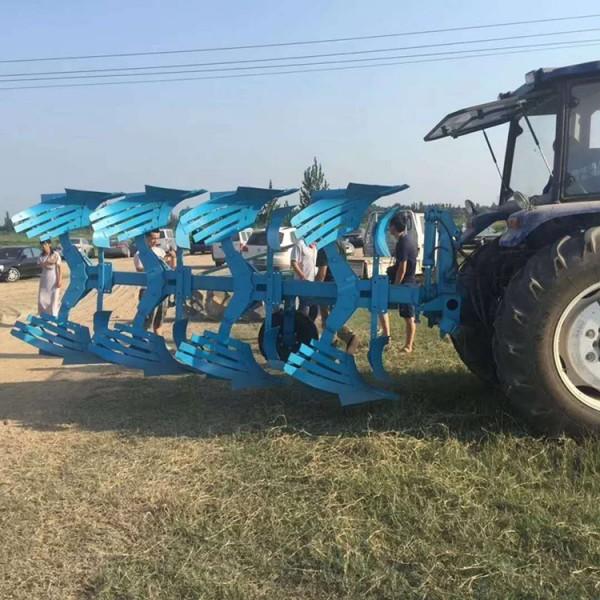 内蒙古液压犁-多铧翻转双面犁型号-鲁晨耕地犁厂家