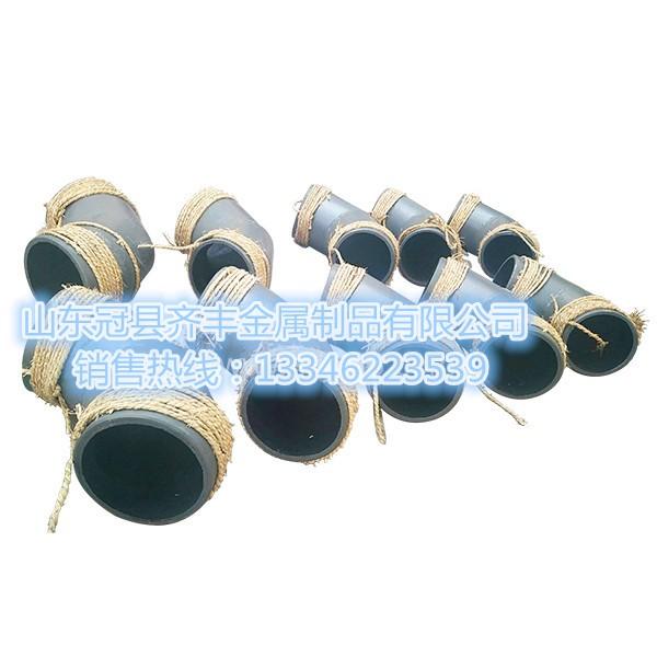 供应山东淄博点焊装卡式耐磨管 耐磨管道