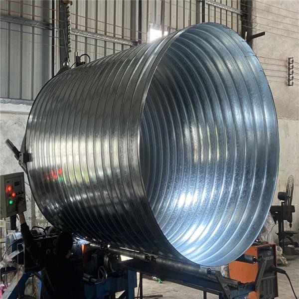 佛山螺旋风管厂 螺旋风管厂专业白铁皮通风管道产品