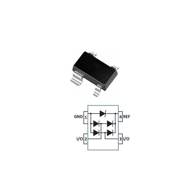 ESD静电二极管UDT26A05L05丝印B05B现货