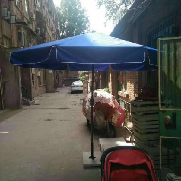 双防―防雨,防晒!西安三折广告太阳伞印字 四角折叠帐篷定做