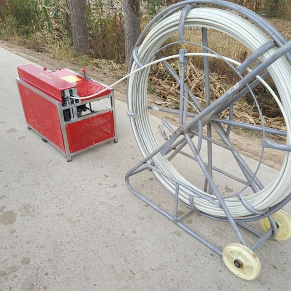 通讯电缆输送机 水电工自动穿线机厂家