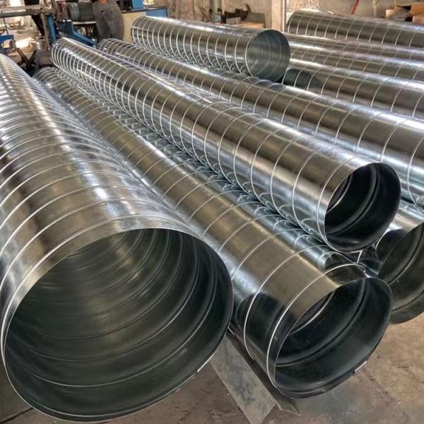 厂房废气排放通风管南沙螺旋风管生产厂