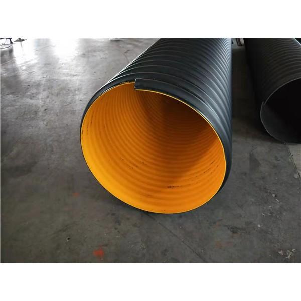 高密度聚乙烯钢带波纹管