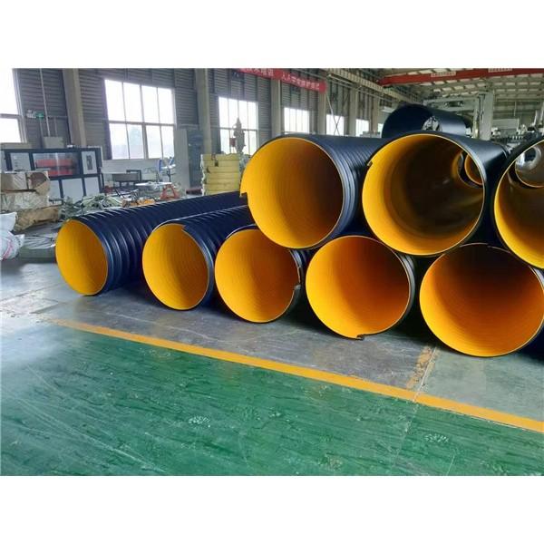 市政工程排污管  钢带波纹管厂家