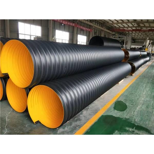 合纵新材大口径钢带增强螺旋波纹管