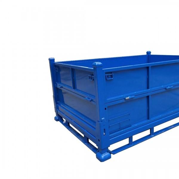 苏州汽车料架金属箱生产厂家 金属物料箱非标定制