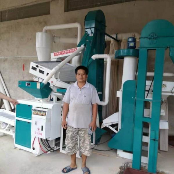 贵州新型组合碾米机产量高碾米速度快出米效果好