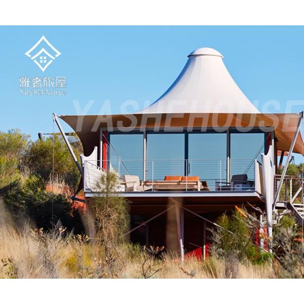 云南高端豪华野奢沙漠帐篷酒店
