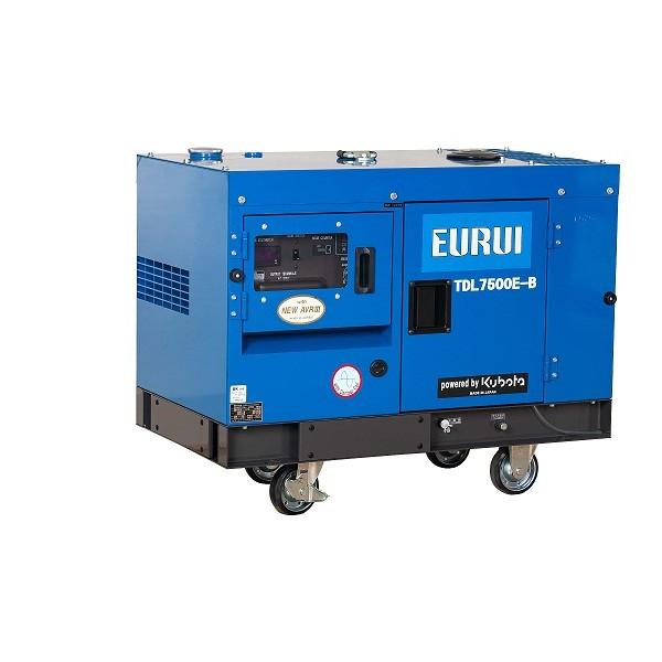 原装日本东洋柴油静音5KW单相车载发电机TDL7500E-B