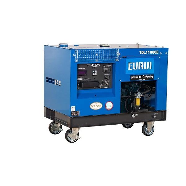 原装日本东洋柴油单相10KW车载发电机TDL11000E