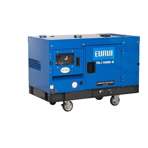 原装日本东洋柴油静音10KW车载发电机TDL11000E-B