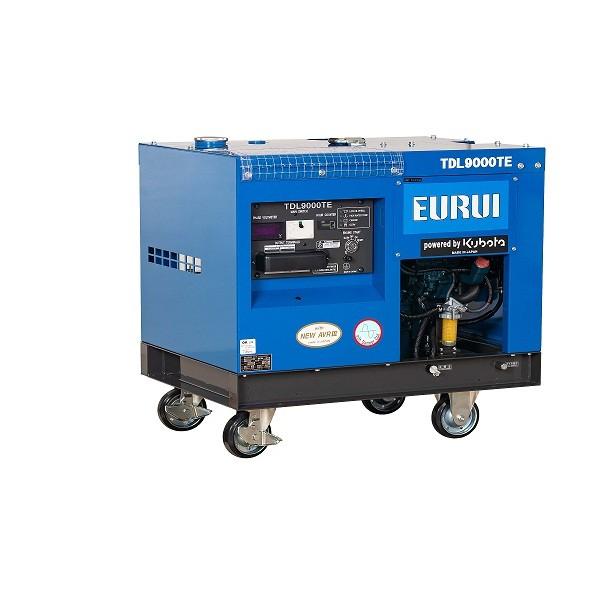 原装日本东洋柴油三相7KVA车载发电机TDL9000TE