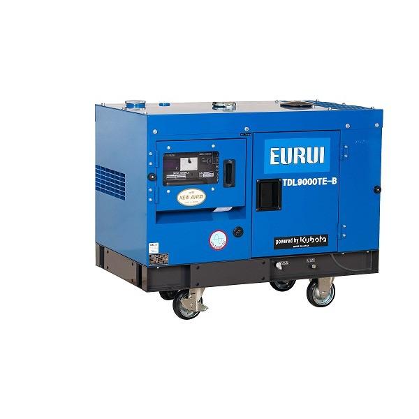 日本东洋柴油三相7KW车载静音发电机TDL9000TE-B