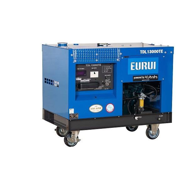 日本东洋柴油10KW三相轨道车专用发电机TDL13000TE