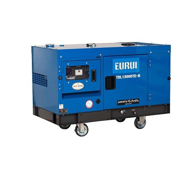原装日本东洋铁路轨道车专用静音发电机TDL13000TE-B