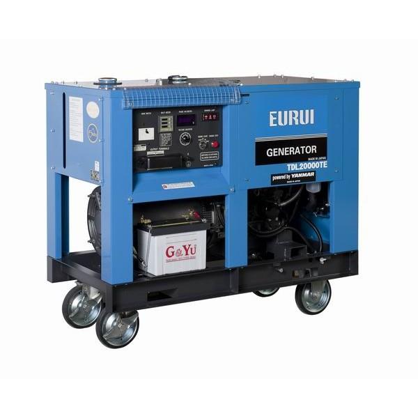 日本东洋柴油15KW三相车载移动发电机TDL20000TE