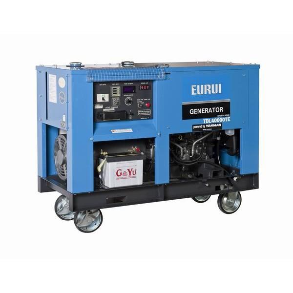 原装日本东洋柴油31KVA车载发电机TDL40000TE