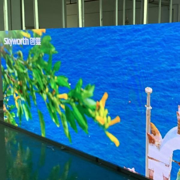 吉林省、河北省强义科技LED小间距显示屏、超防护LED租赁屏