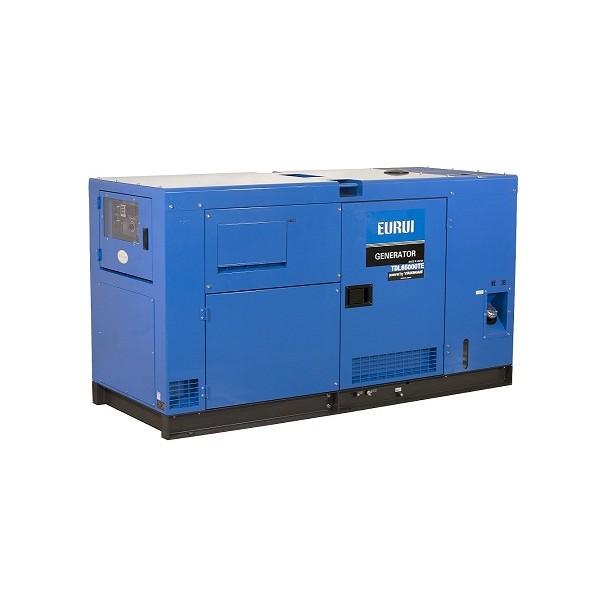 东洋柴油40KVA三相静音车载发电机TDL50000TE-B