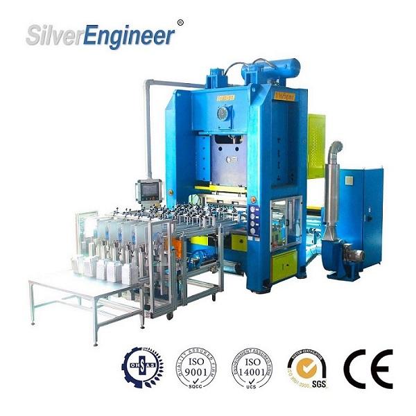 厂家特供SEAC-63机型铝箔容器生产线铝箔包装设备
