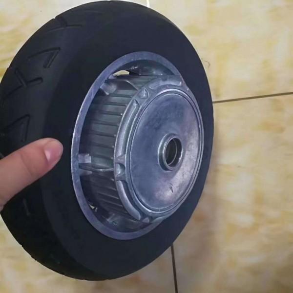 10寸电动滑板车实心轮胎镂空胎10*2.5免充气避震轮胎