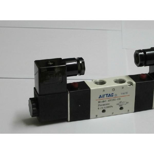 AirTAC亚德客4v220-08 二位五通气动换向阀