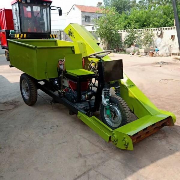 养殖场清粪车 清粪车生产厂家 座驾式自动抽粪装车提粪机
