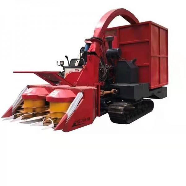 玉米青储机 大型自走式收割机秸秆粉碎回收机