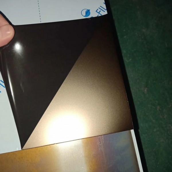 钛金喷砂不锈钢板