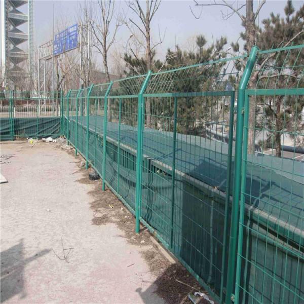 工厂定做框架护栏网 道路两侧隔离网 浸塑护栏网