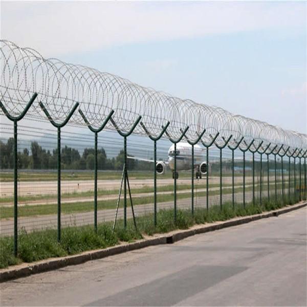 厂家按需定做刀刺护栏网 Y型机场护栏网