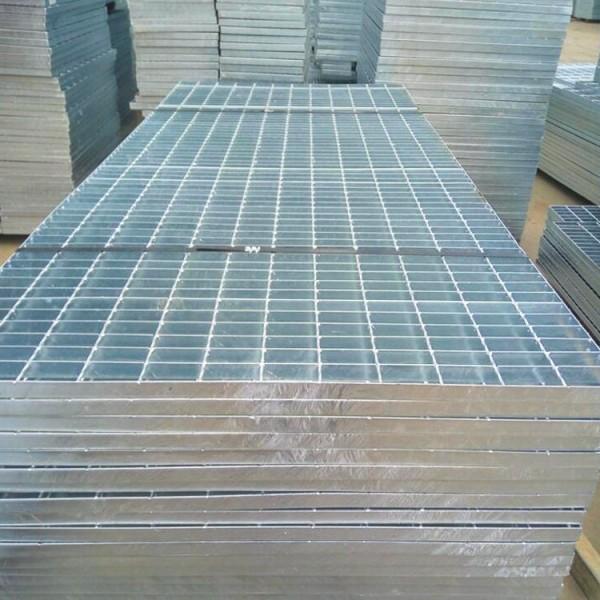热浸锌格栅板 排水沟盖板 焊接不锈钢钢格栅 楼梯踏步板