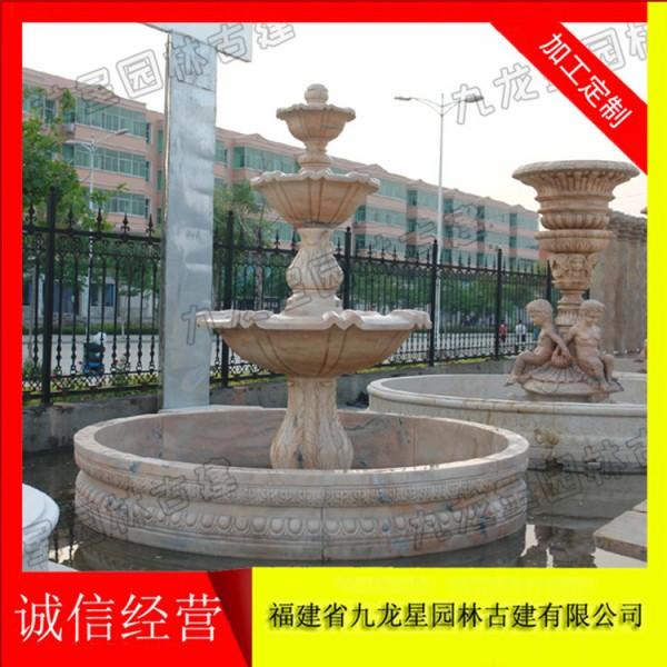 小区喷泉雕塑 石雕欧式喷泉厂家