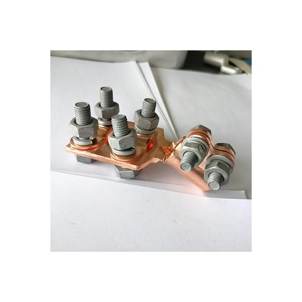 紫铜佛手变压器专用线夹SBT设备抱杆变压器桩头