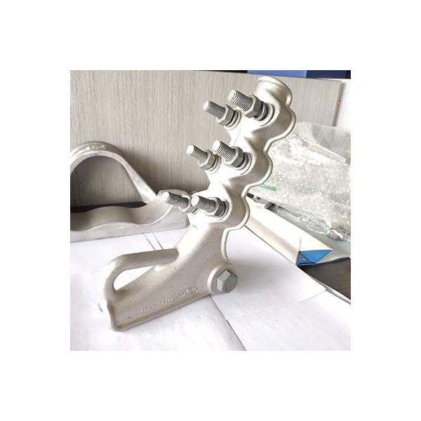 输电铝合金螺栓型绝缘耐张线夹NLL接续拉力线夹含绝缘罩