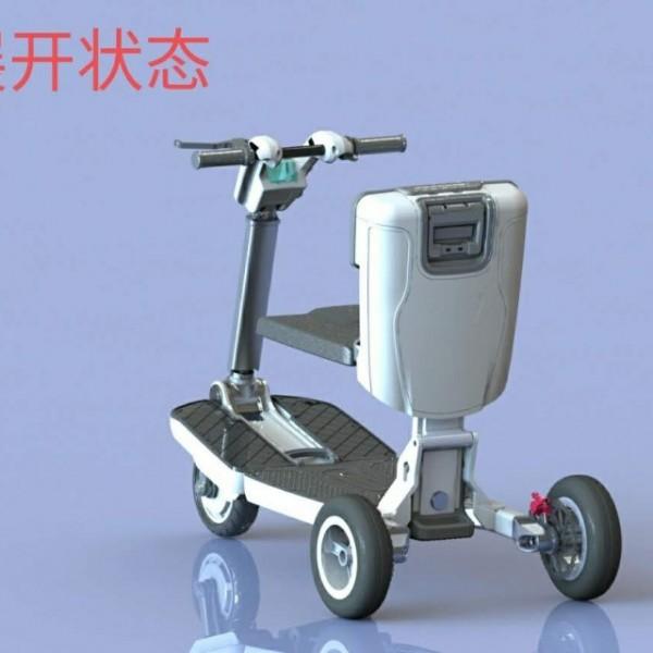三轮车家用小型代步车接送孩子新款电瓶车电三轮老年老人代步车