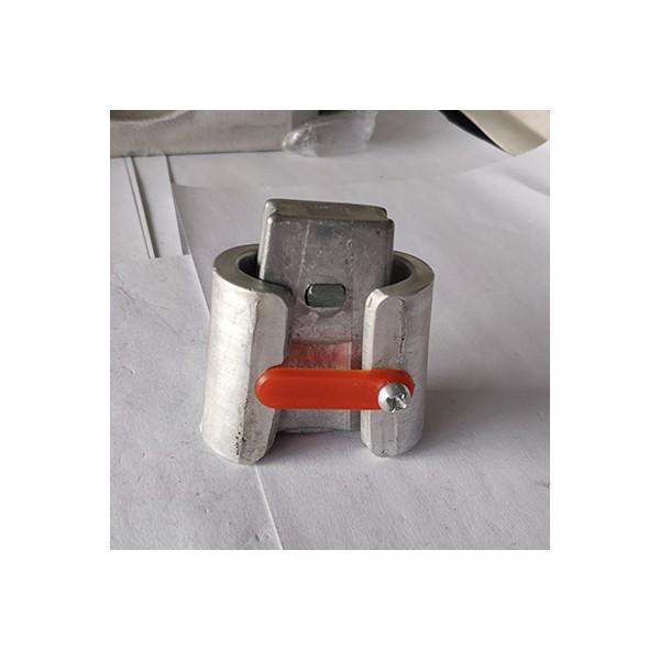 铝合金自锁式楔形并沟线夹威马C型连接器电缆分支线夹VM含护罩