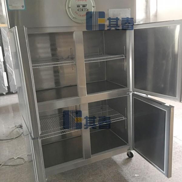 化工厂防爆冷藏冷冻冰箱BL-L880CDB内外不锈钢防爆冰箱