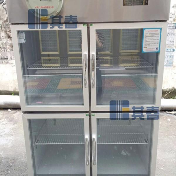 冷藏0℃~10℃防爆冰箱1000升不锈钢四开门防爆冰箱