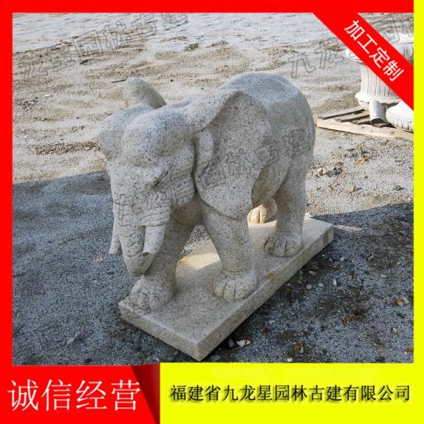 石刻大象 厂家石雕大象价格