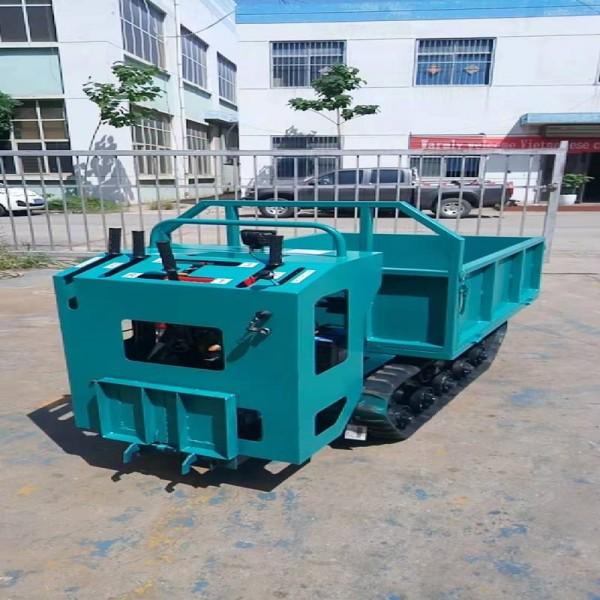 产地直发履带车农用自行走运输车1.2T手扶履带车