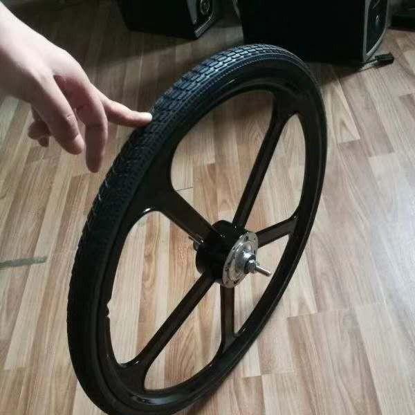 共享单车公共自行车供应商 向尚镂空轮胎 防扎防爆24实心轮胎